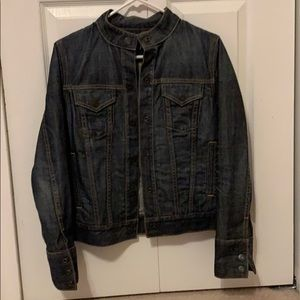 Gap Motorcycle Style Jean Jacket